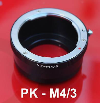 Pentax Pk Lens Micro 4/3 M4/3 Adapter Panasonic Gf5 Gf3 Gx1 Gf2 Gf1 Gh3 Gh2 G3