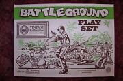 Marx Battleground Playset