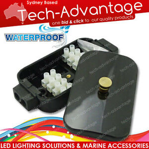 BOAT-MARINE-ELECTRICAL-CONNECTION-BOX-WATERPROOF-40-AMP