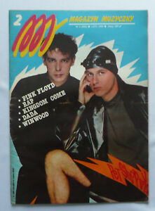 PET SHOP BOYS / YAZZ / PINK FLOYD polish mag 1989 - <span itemprop=availableAtOrFrom>Gniezno, Polska</span> - PET SHOP BOYS / YAZZ / PINK FLOYD polish mag 1989 - Gniezno, Polska