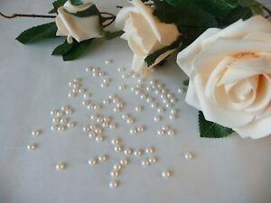 1000 5mm Wedding Table Confetti Flat Back Half
