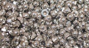 1/2 Lb of 8-32 Chrome Acorn Nuts
