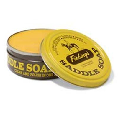 FIEBING COMPANY SADDLE SOAP PASTE YELLOW 12 OUNCES