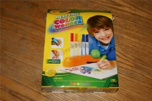 Crayola-Color-Wonder-Magic-Light-Markers-Drawing-Pad-NEW