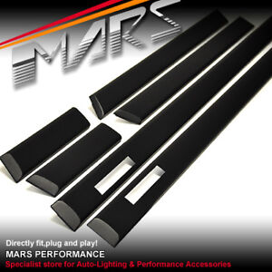 BMW E36 M3 Style Door Stripe Moulds Mouldings trim