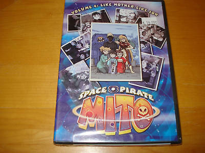 Space Pirate Mito Vol. 4: Like Mother, Like Son (Anime DVD, 2003, New)