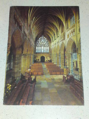Exeter Cathedral #1 postcard