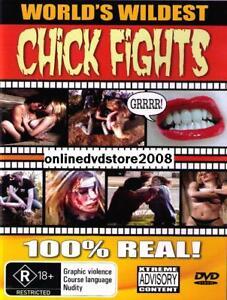 WORLD-039-S-WILDEST-CHICK-CAT-FIGHTS-100-STREET-BRAWLS-DVD-NEW-SEALED-GIRLS-UFC