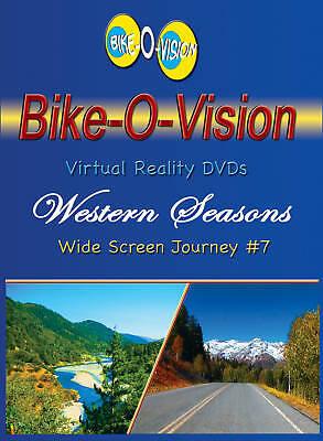 Bike-o-vision Cycling Video, western Seasons Blu-ray