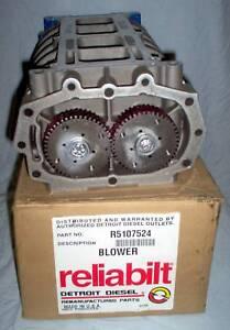 Detroit Diesel Reliabilt 6v53n Engine Blower Usa Made Ebay
