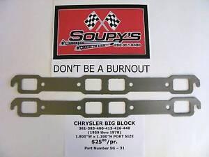 Chrysler-Big-Block-Exh-Gaskets-361-383-400-413-426-440
