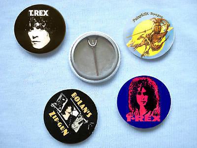 T.Rex-Set 2 Of Four  Badges Marc Bolan