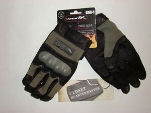 Wiley-X-CAG-1-Gloves-Green-Large-Brand-New