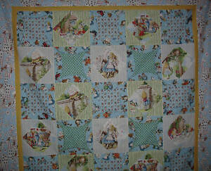 Quilt-kit-Alice-in-Wonderland-50-034-X50-034-with-borders-and-binding-pattern-included