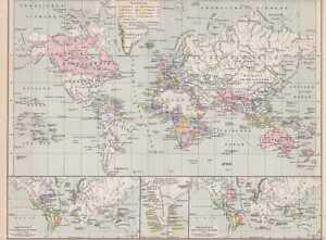 Kolonialismus Karte