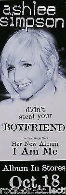 ASHLEE SIMPSON 2005 I AM ME PROMO POSTER ORIGINAL