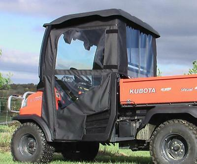 kubota rtv900 removable doors and rear window combo ebay. Black Bedroom Furniture Sets. Home Design Ideas