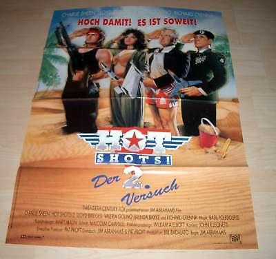 Filmposter A1 Neu Poster Hot Shots 2 - Charlie Sheen