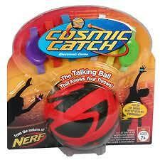 NEW-Nerf-Cosmic-Catch-Electronic-Game-Red