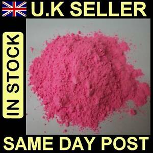 FLUORESCENT-PINK-500g-POWDER-PAINT-FOR-ART-CRAFT