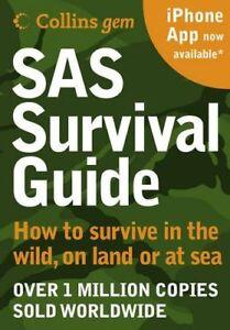 SAS Survival Guide (Collins GEM) - New PB Book FREE P&P