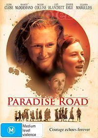 PARADISE ROAD (Cate Blanchett DVD) R2 compatible UK