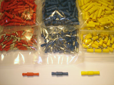 300 Male & Female Bullet Connectors Quick Spades - All Size Wire Awg 22-10 Gauge
