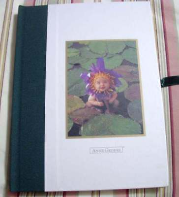 Anne Geddes Water Lily Baby Photo Album Memory Book Shower Gift