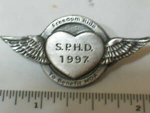 1997-SPHD-Freedom-Ride-Harley-MDA-Motorcycle-PIN-Badge