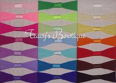 Pick 12 Toddler Girls Nylon Pantyhose Interchangeable Headbands 12-36 months