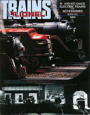 1991 LIONEL TRAINS  BOOK ONE CATALOG MINT