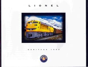 1998-LIONEL-TRAINS-HERITAGE-CATALOG-MINT