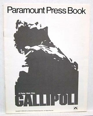 1981 Pressbook GALLIPOLI Mel Gibson