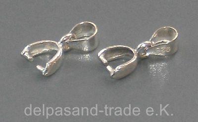 Anhänger, Aufhänger, Silber 925, 13mm, Bail, Edelsteine, Pendant, K22