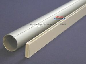 Shade blind rod for motorized electric curtain rod ebay for Bali blinds motorized remote control