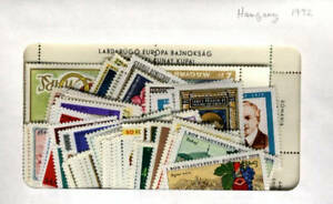 Hungary-1972-MNH-Year-set