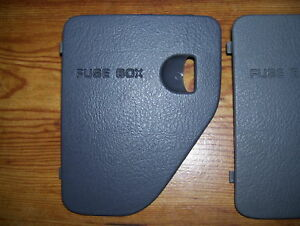 94-97 DODGE RAM PICKUP TRUCK FUSE BOX ACCESS DOOR LID COVER 1500 ...