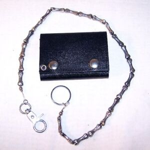 new-HEAVY-WALLET-CHAINS-BONES-metal-jewelry-chain-gift-novelty-holder-biker-new