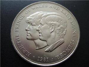 1981 CROWN - CHARLES AND DIANA - IN GREAT CONDITION.