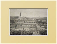 Saluzzo. Panorama - Piemonte. In Passepartout 1894 -  - ebay.it