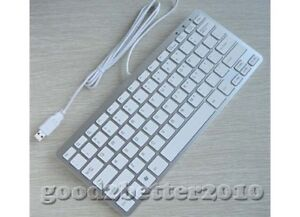 USB 2.0 Sleek Ultra thin Mini Keyboard For Apple and PC