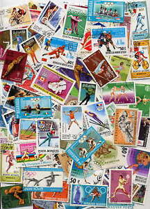 HUGE OLYMPIC GAMES COLLECTION - 500 DIFFERENT STAMPS!