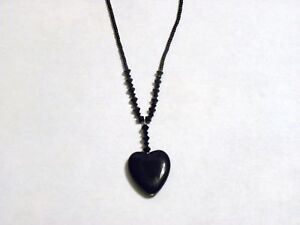 HAND-BEADED-BLACK-SWAROVSKI-CRYSTALS-AND-GLASS-HEART-NECKLACE