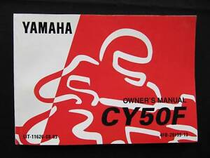 cy50 a wiring diagram yamaha 1994 cy50 cy 50 jog new original owners manual ebay  yamaha 1994 cy50 cy 50 jog new original