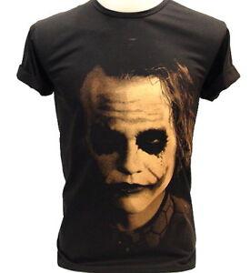 JOKER-Shadow-Heath-Ledger-BATMAN-VTG-Retro-T-Shirt-L
