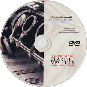 Clarinet-Music-MP3-Archive-Collection-DVD