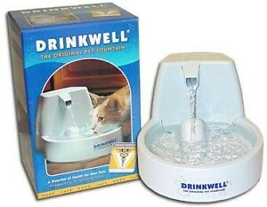 NIB-Drinkwell-Pet-Water-Fountain-Cat-or-Dog-Bowl-NEW