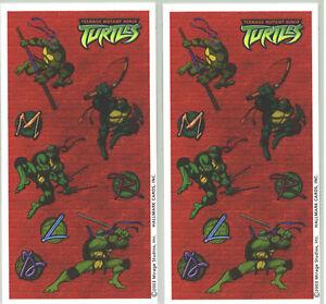 Teenage-Mutant-Ninja-Turtles-TMNT-Scrapbook-Stickers-2-Sheets