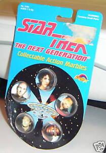 1993-Set-of-5-MARBLES-Star-Trek-Next-Generation-TNG-MIP