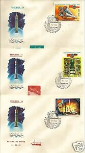 Space-Soviet-Russian-PROGRESS-14-Baikonur-Set-3-Covers